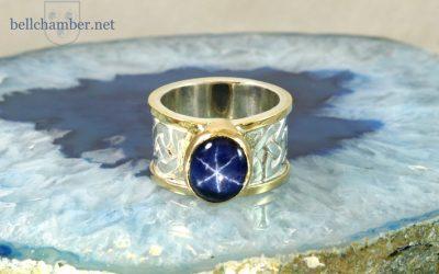 Star Sapphire Dimma Loveknot Set