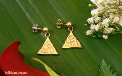 Priestly Triskele Earrings