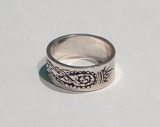 Davies Dragon Ring
