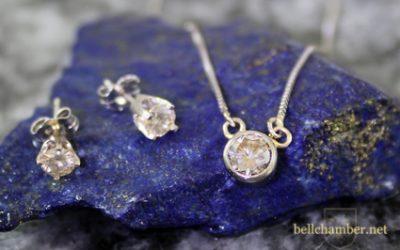 Set Gemstone Earrings