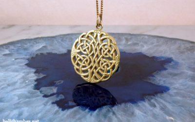 Celtic Wheel of Life Knot Pendant