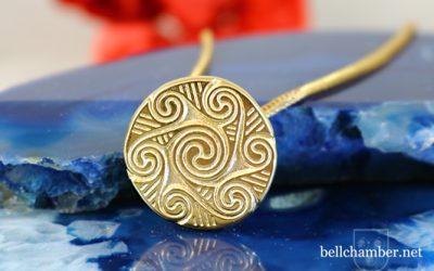 The Morrígan Spiral Pendant