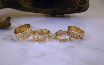 Eternity Triskele Ring