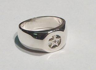 Pentacle Signet Ring