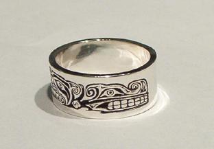 Sisiutl Warrior Soul Catcher Ring