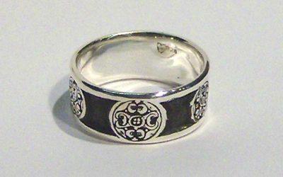 Battersea Shield Ring