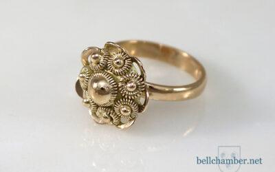 'Dutch Button' ring.