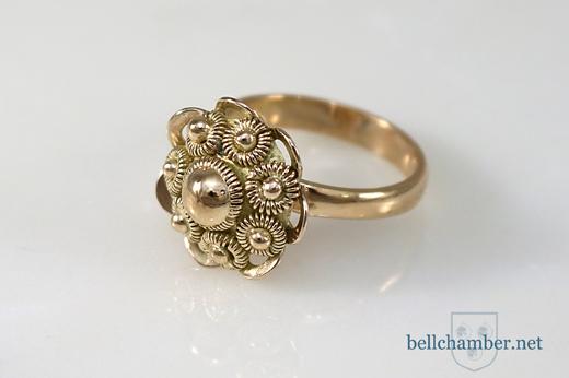 Dutch Button Ring