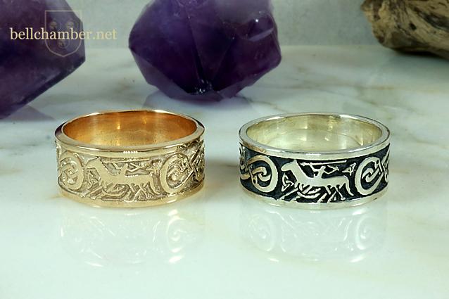 Odin and Sleipnir Ring