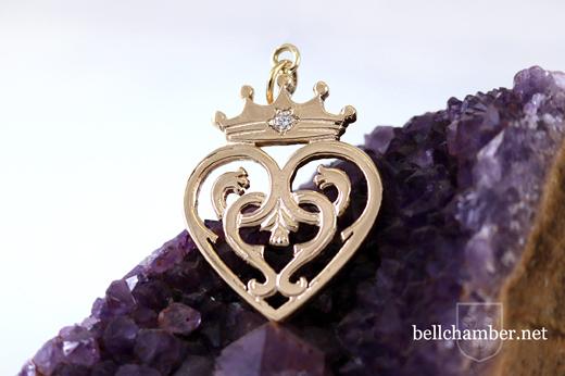 Luckenbooth Heart