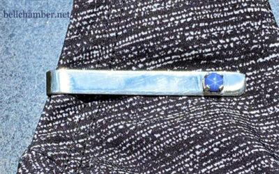 Custom Silver Tie Bar