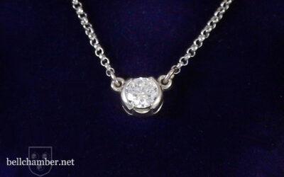 Diamond Charm Pendant
