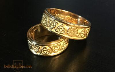 Tudor Rose & Triskele Rings