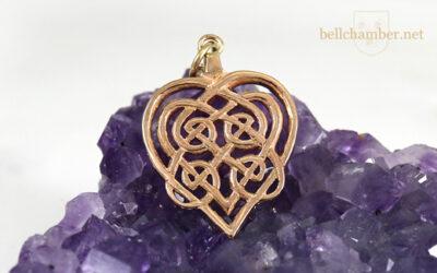 Two Hearts Interlace Pendant